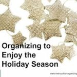 organizing the holiday season